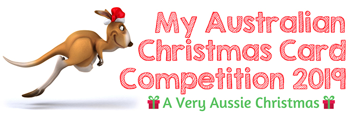 My Australian Christmas Card Competition 2019.