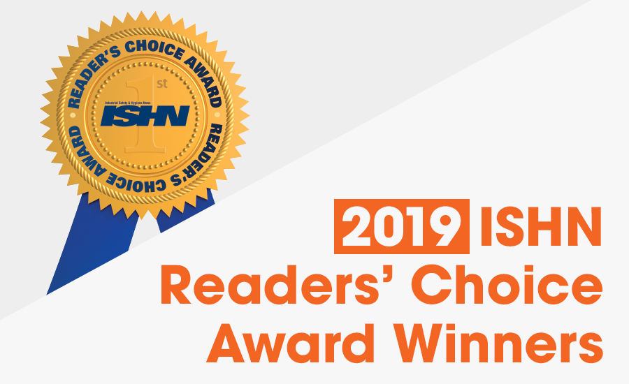 2019 Readers' Choice Awards Winners: Best PPE, safety equipment.