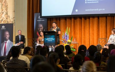Study at a Tertiary Institution in Australia through Australia Awards.