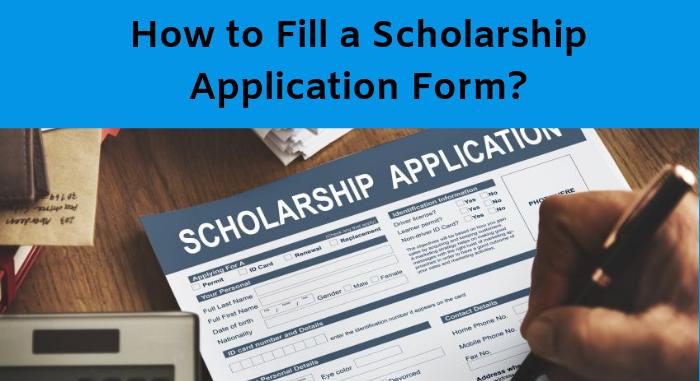Scholarship Form 2019.