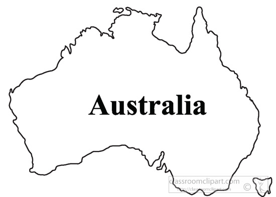1590 Australia free clipart.