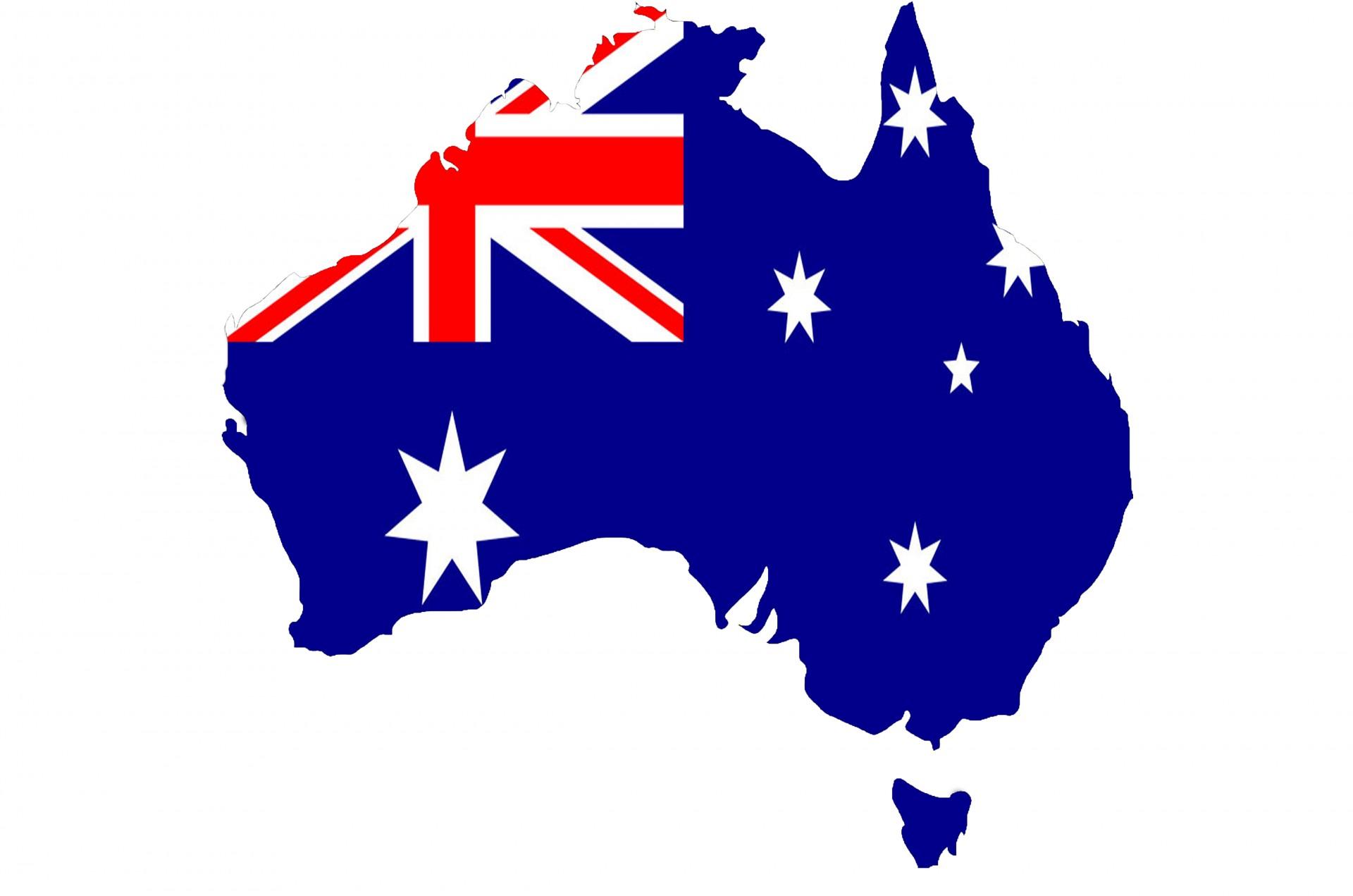 Australia clipart map.