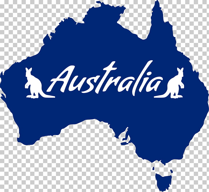Australia Koala , Australia, blue and white Australia map.