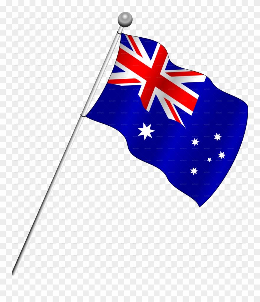 Sampler A Picture Of The Australian Flag Australia.