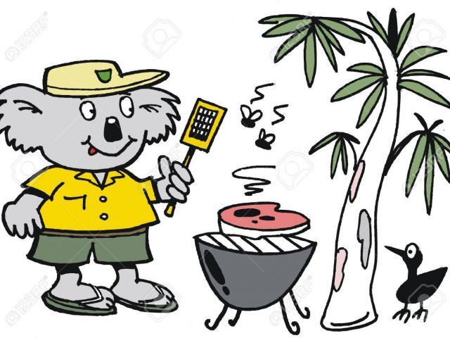 Barbecue clipart bbq australian, Barbecue bbq australian.