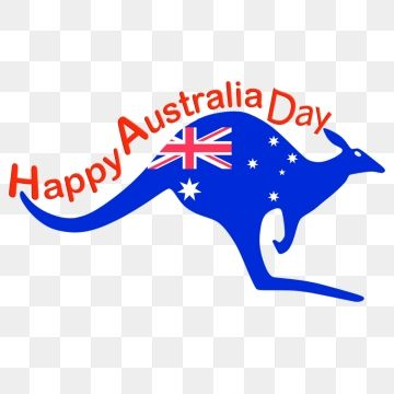 Kangaroo Happy Australia Day Flag, Australia Day, Happy.