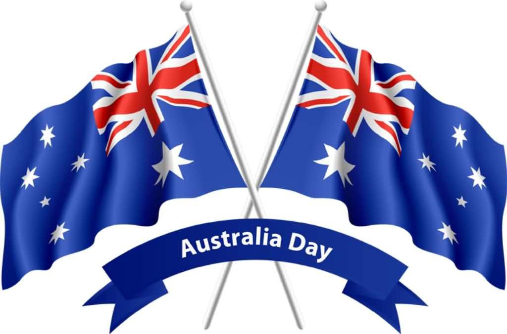 Australia Day Flag Clipart.