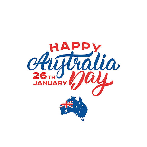 Best Australia Day Illustrations, Royalty.