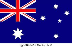 Australian Flag Clip Art.