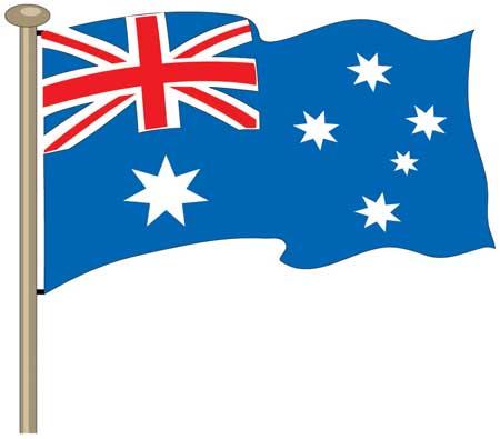 Australian flag clipart 2 » Clipart Station.