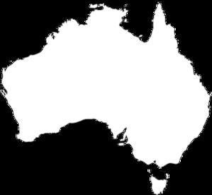 Australia Outline Clip Art at Clker.com.