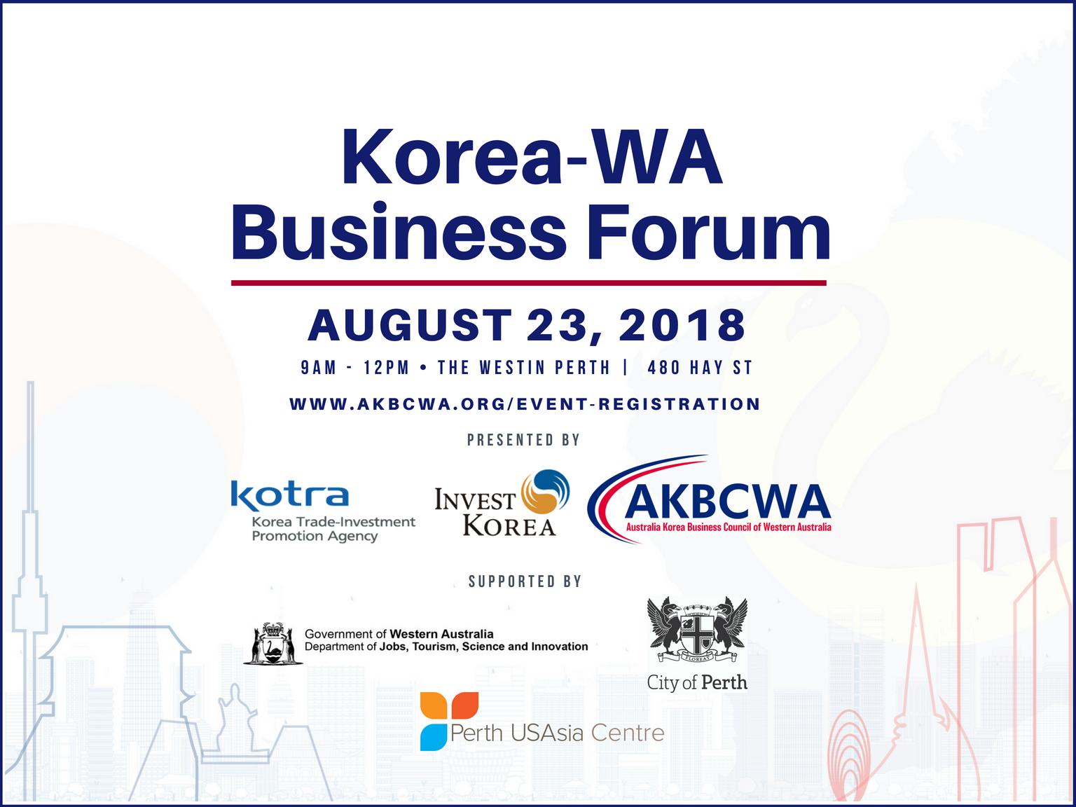 Event Invitation] The Inaugural Korea.