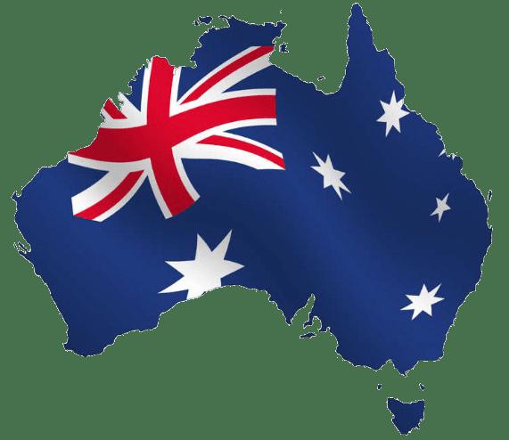 Australia Map transparent image.