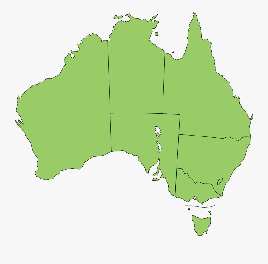 Australia Vector Map.