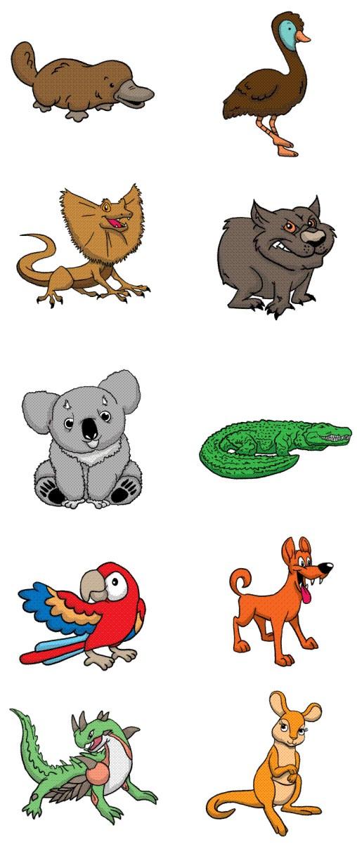 Australian Animal & Birds.