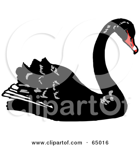 Royalty Free Stock Illustrations of Swans by Dennis Holmes Designs.