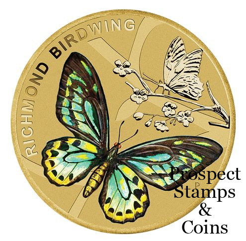 The Perth Mint :: 2016 Coin Releases :: 2016 Australian Butterfly.