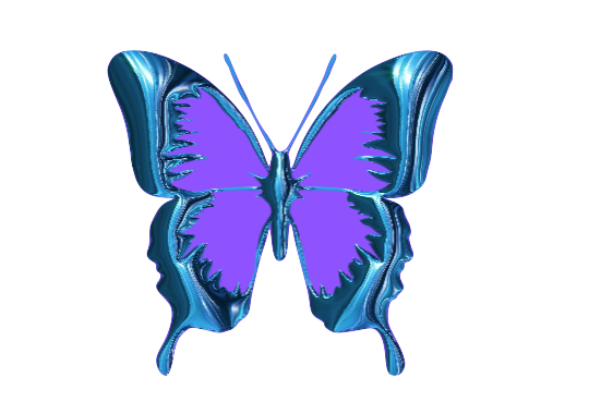 Butterfly Clipart ~ Jewels Art Creation.