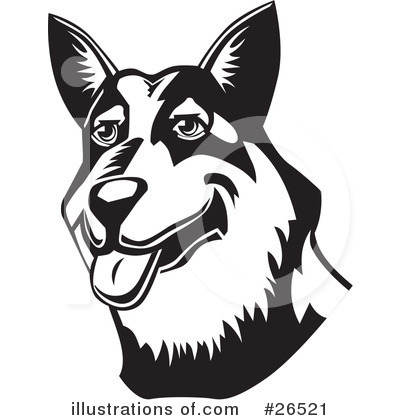 Australian Cattle Dog Clipart #26521.