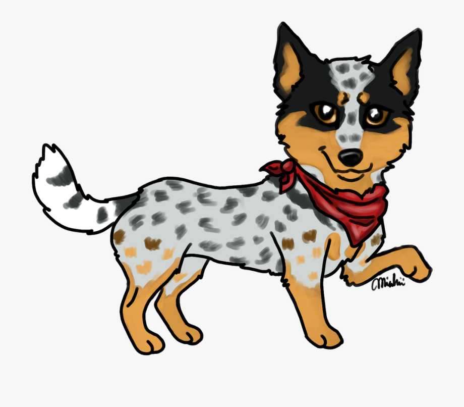 Top Australian Cattle Dog Clip Art, Vector Graphics.