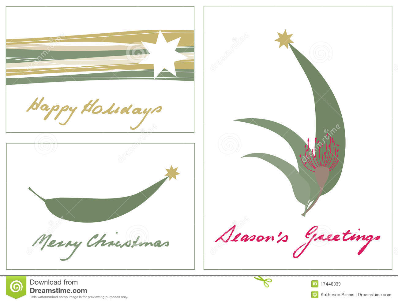 Australian Christmas stock vector. Illustration of happy.