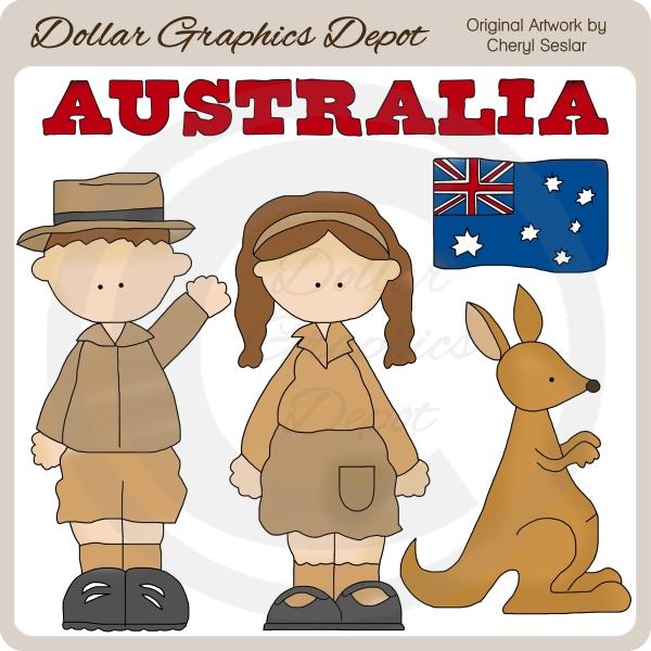 Australian clipart.