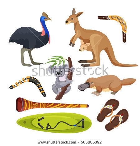 Australian Animals Stock Photos, Royalty.