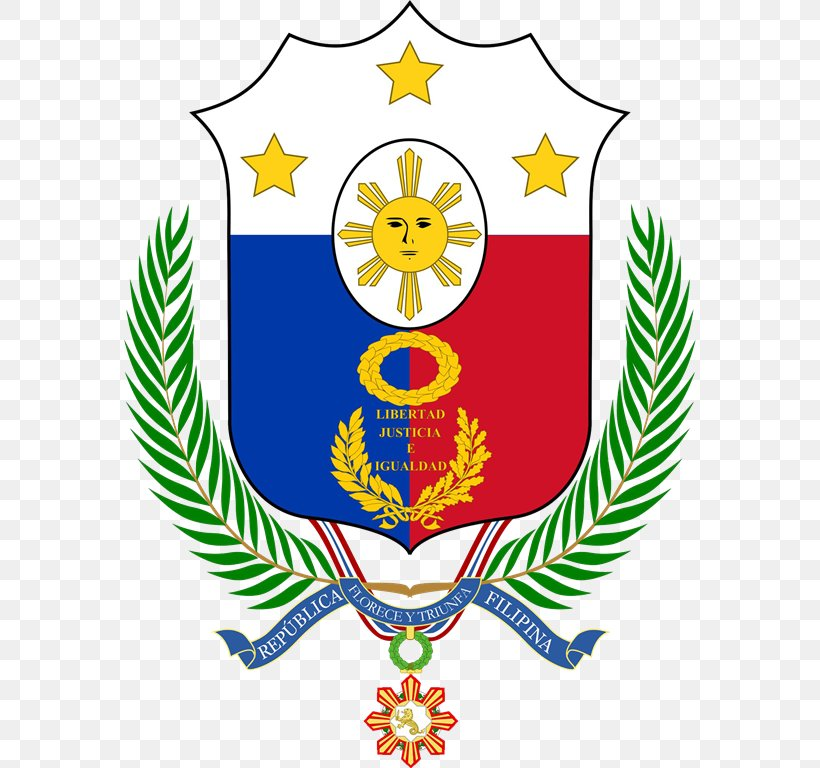 Coat Of Arms Of The Philippines Flag Of The Philippines.