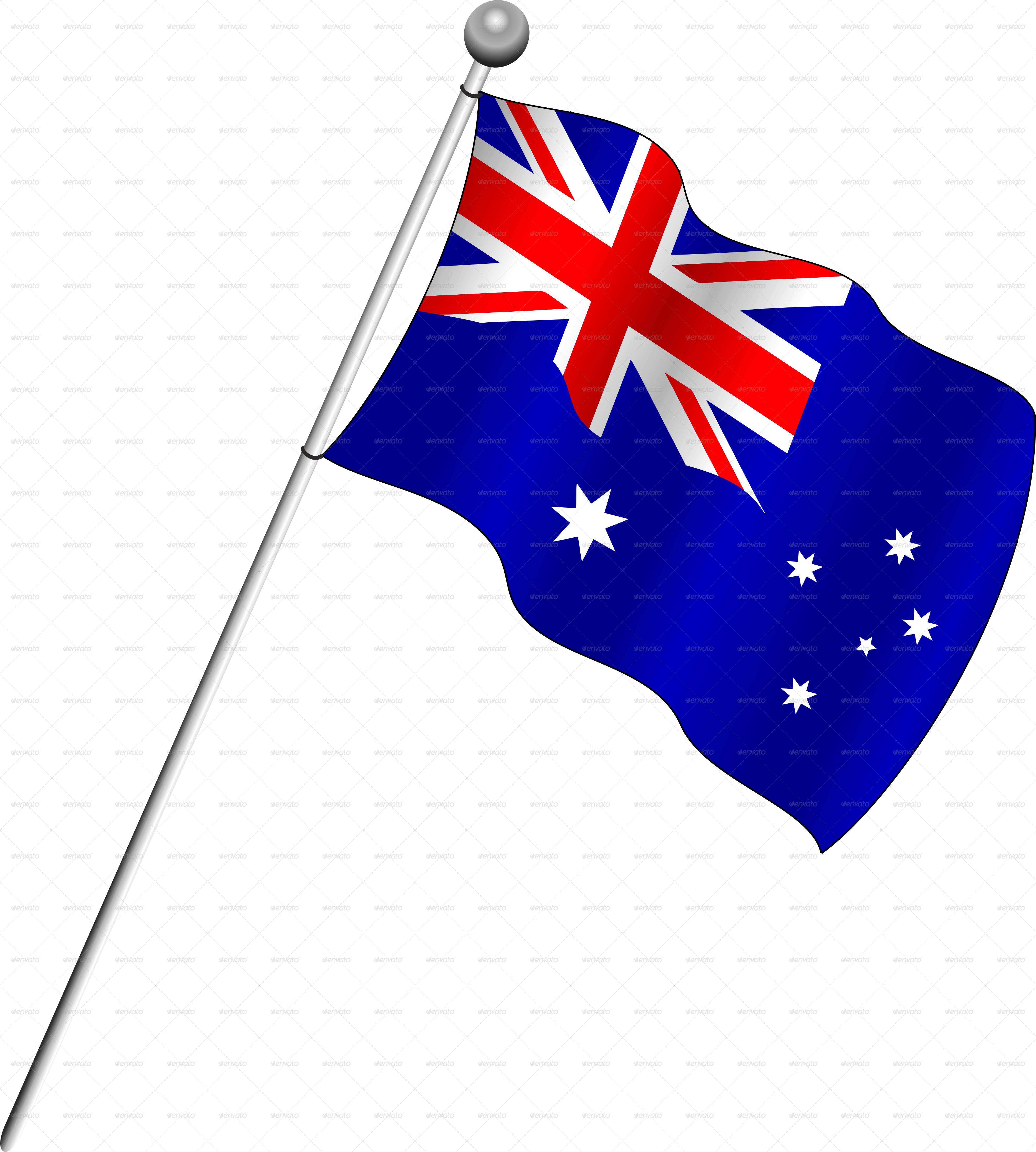 Flag of Australia Clip art.