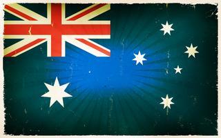 Australia Flag Free Vector Art.