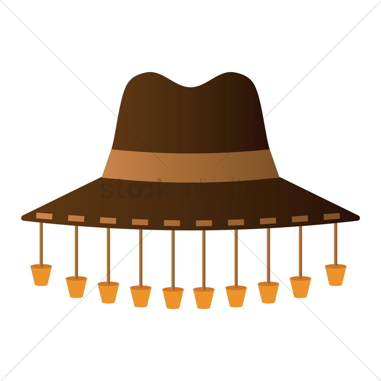 Australian Hat Clipart.