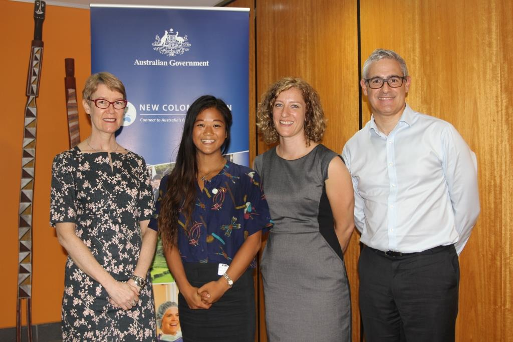 Australian student completes studies in Papua New Guinea through New.