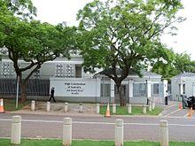 List of diplomatic missions of Australia.
