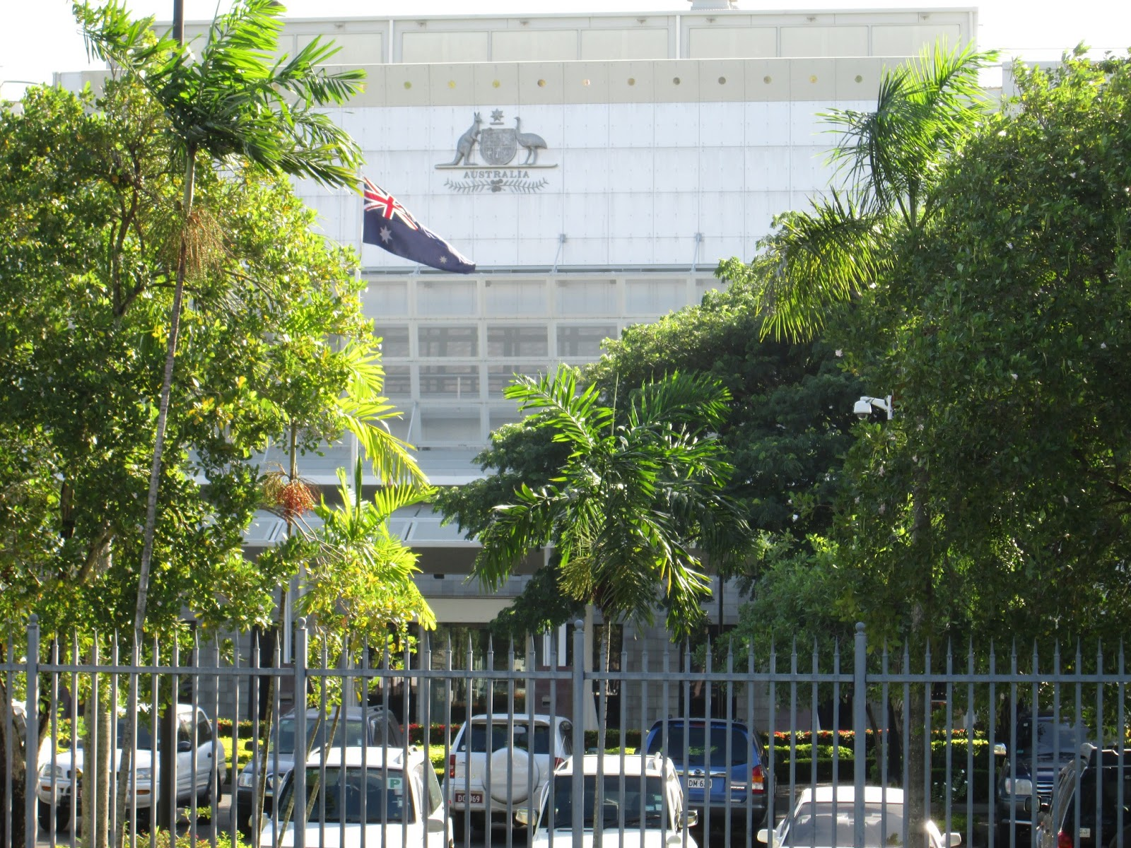 The Australian High Commission.