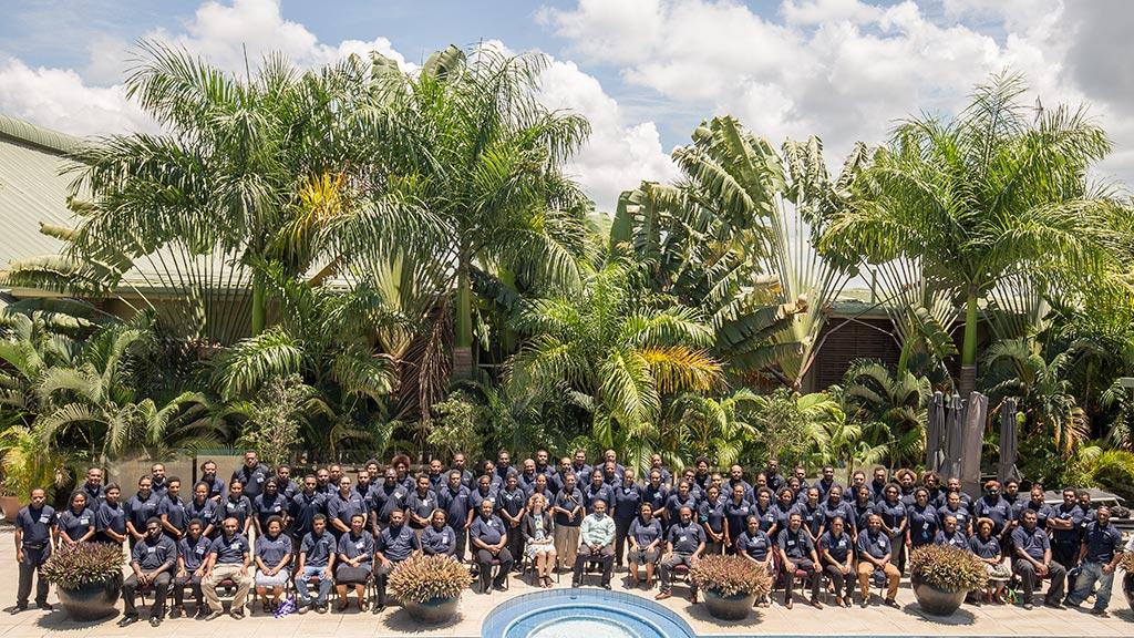 Papua New Guinea awardees prepare for study success in Australia.