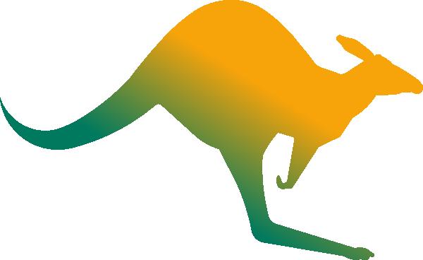 Kangaroo clipart aussie.