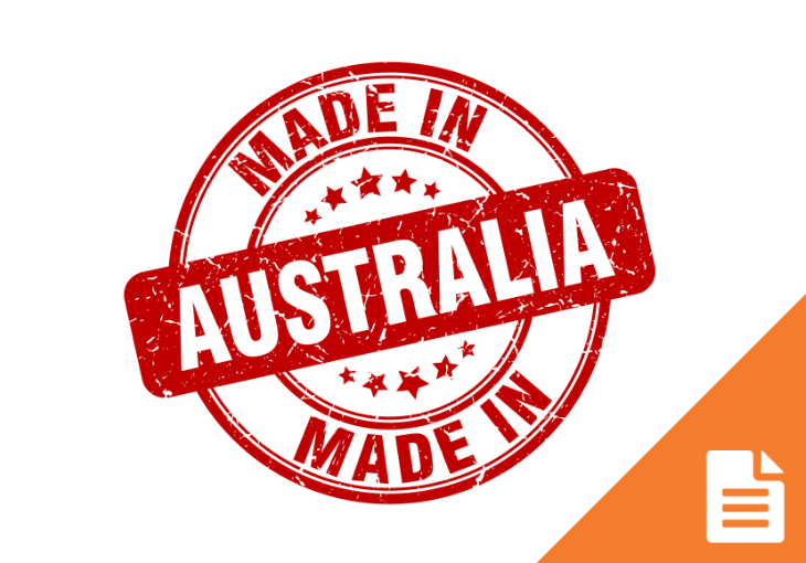 Businesses warned on use of 'Made in Australia'.