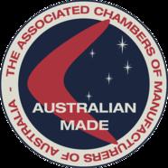 Australian Made.