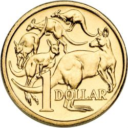 Australian Money Coins Clipart.