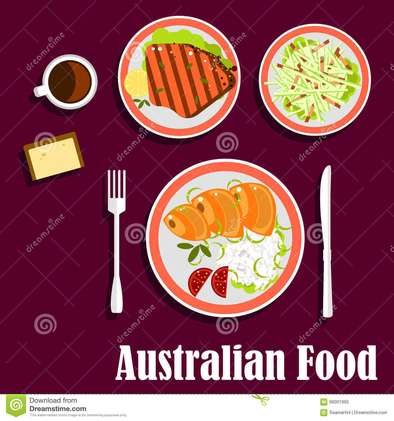 Australian Wheat Stock Illustrations.