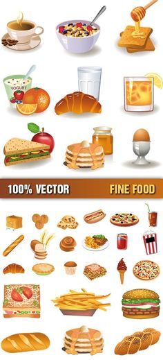 Australian Food Clipart.
