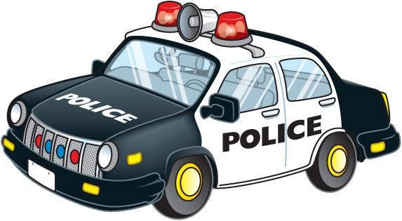 Australian Police Car Clipart.
