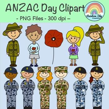 Anzac Day Clipart.