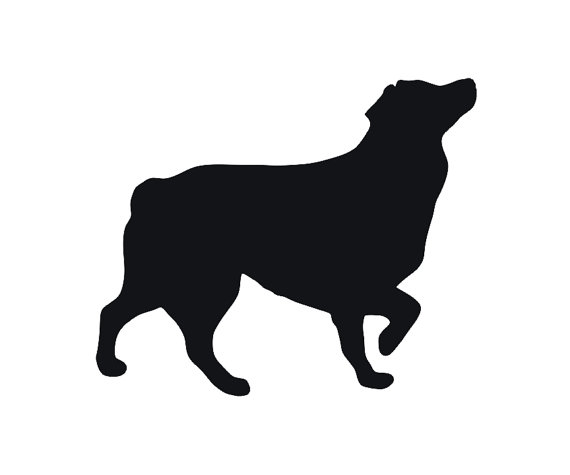 Australian Shepherd Silhouette at GetDrawings.com.