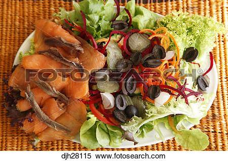 Stock Image of Australia, Australian Food, Traditional Smoked.