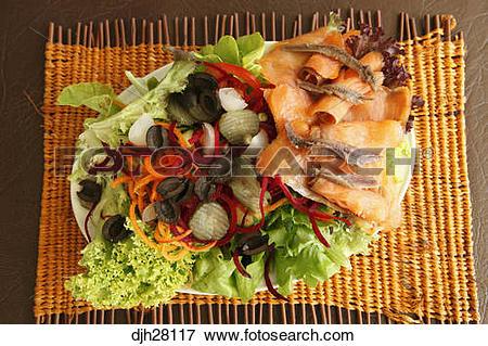 Picture of Australia, Australian Food, Traditional Smoked Salmon.