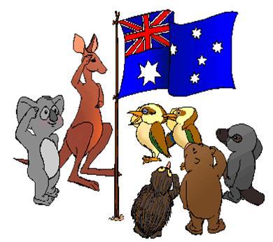 Animated Australian Animals.