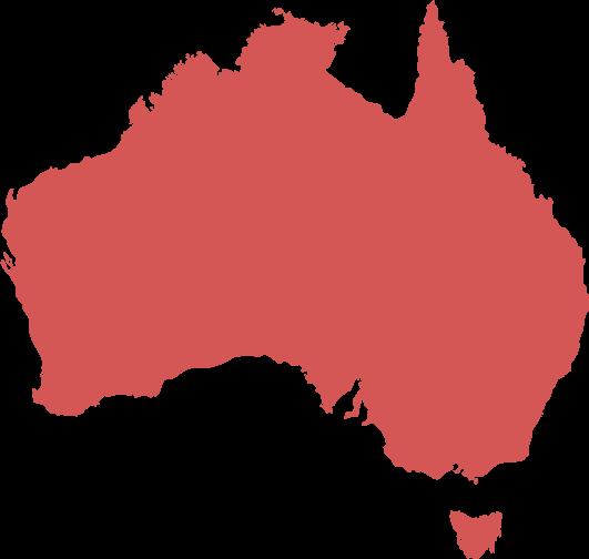 Australia Map Clip art.