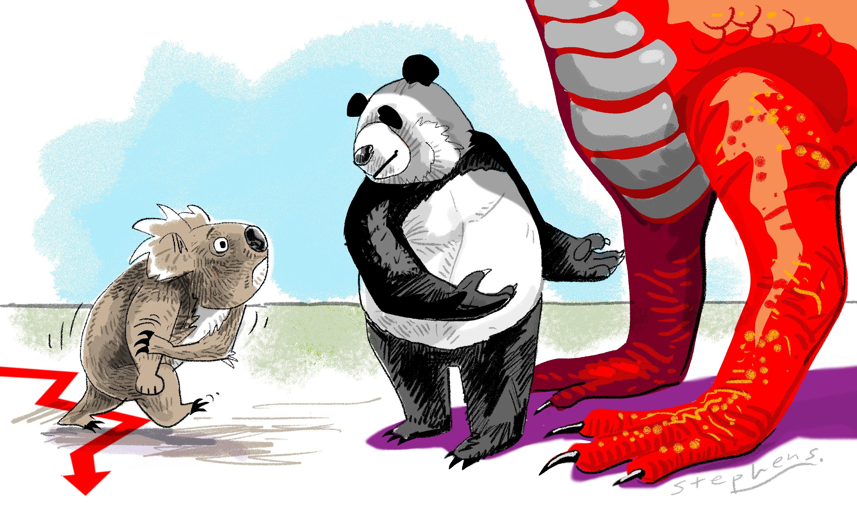 As Australia pushes back against China, the Western world is.