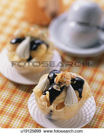 Stock Photograph of Japanese, Dessert, Sweets, Western.